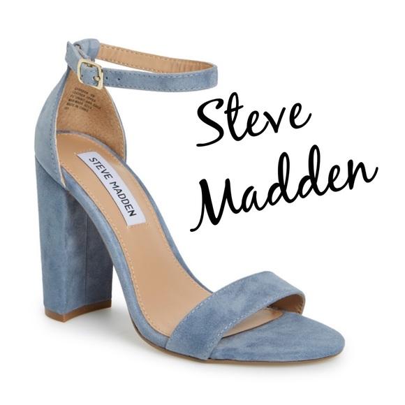 Steve Madden Carrson Shoe Light Blue